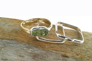 nieuwe ringen uit oude sieraden